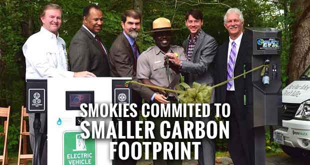 Great Smoky Mountains National Park held two ribbon-cutting ceremonies to unveil over 10 new pieces of alternative fuel equipment.